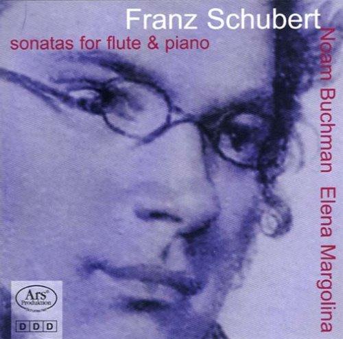 Schubert , Franz - Sonatas for flute & piano (Noam Buchman , Elena Margolina)