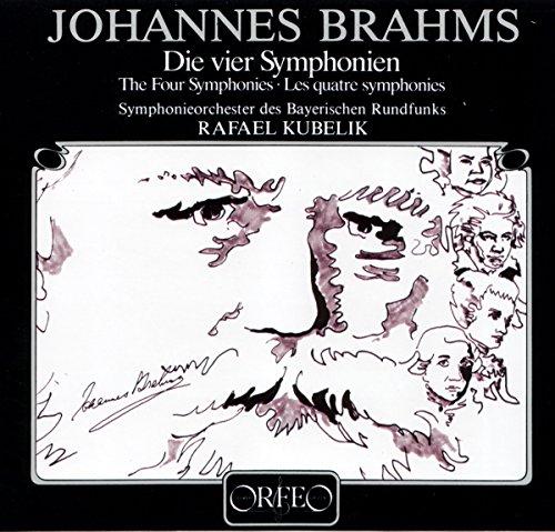 Brahms , Johannes - Die vier Symphonien (Kubelik, SOBR)
