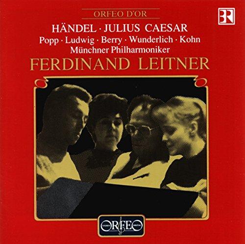 Händel , Georg Friedrich - Julius Caesar (GA) (Popp, Ludwig, Berry, Wunderlich, Kohn, Leitner)