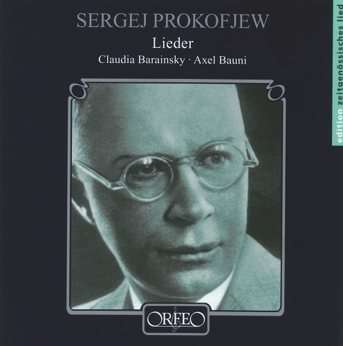 Prokofjew , Sergej - Lieder (Barainsky, Bauni)