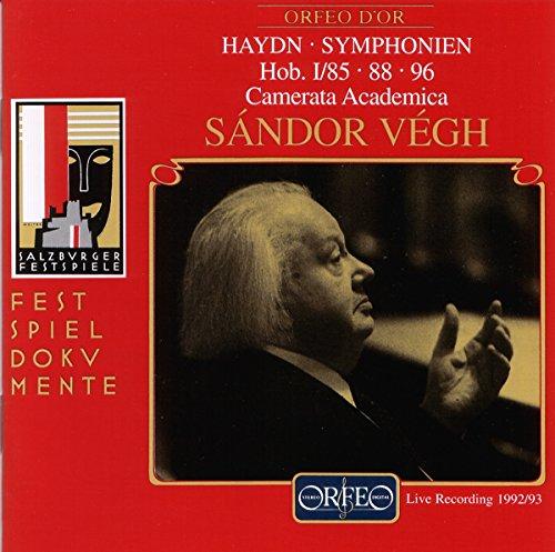 Haydn , Joseph - Symphonien Hob. I/85, 88, 96 (Vamerata Academia Salzburg, Vegh)