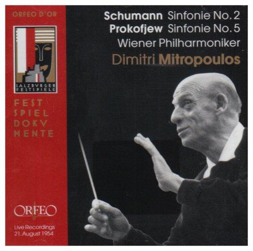 Schumann , Robert / Prokofiev , Sergej - Sinfonie No. 2 / Sinfonie No. 5 (Mitropoulos)