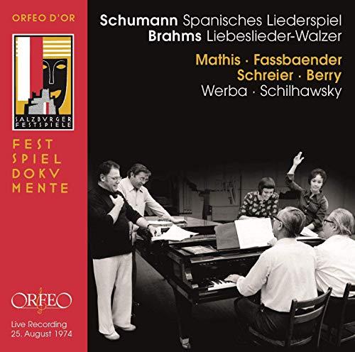Mathis / Fassbaender / Schreier / Berry - Schumann: Spanisches Liederspiel / Brahms: Liebeslieder-Walzer (Werba, Schilhawsky)