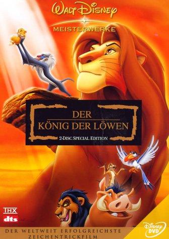 DVD - Der König der Löwen (Special Edition) (Disney)