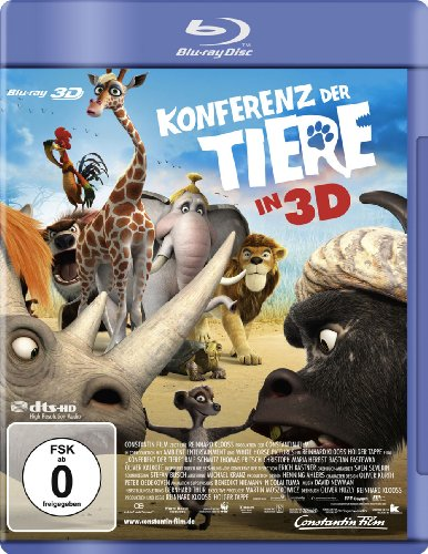 Blu-ray - Konferenz der Tiere 3D
