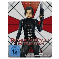 Blu-ray - Resident Evil - Retribution 3D (Steelbook)