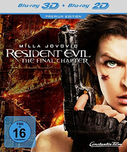 Blu-ray - Resident Evil - The Final Chater 3D (Premium Edition)