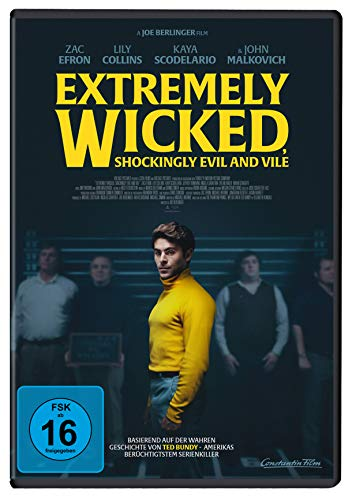 DVD - Extremely Wicked, Shockingly Evil and Vile