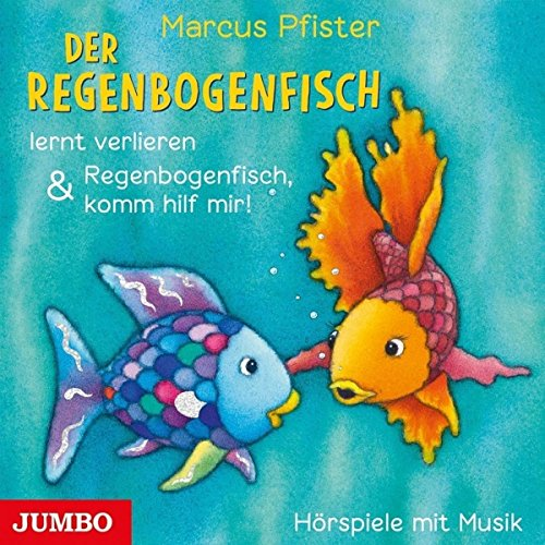 Pfister , Marcus - Der Regenbogenfisch lernt verlieren & Regenbogenfisch, komm hilf mir!