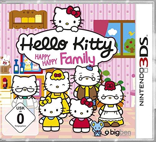 Nintendo 3DS - Hello Kitty - Happy Happy Family