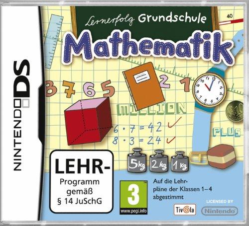 Nintendo DS - Lernerfolg Grundschule - Mathematik Klasse 1-4 [Software Pyramide]
