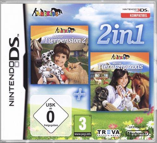 Nintendo DS - Meine Tierpension 2 / Meine Tierarztpraxis (2in1)