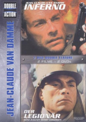 DVD - Jean-Claude van Damme (Inferno / Der Legionär) (Double Action)