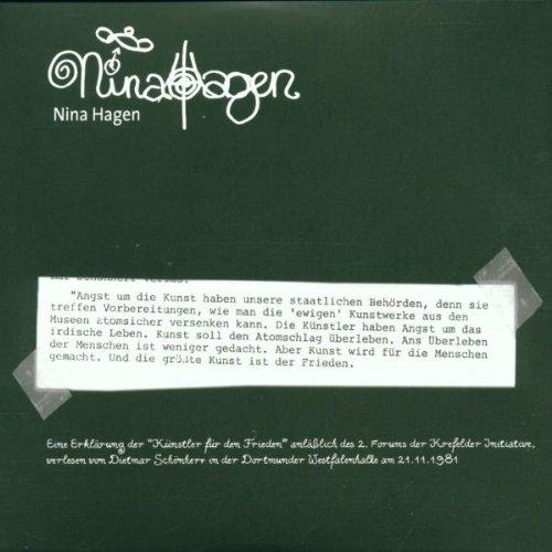 Hagen , Nina - Live At Kulturfabrik / Krefeld (Germany) 2001 - Keine Atomraketen / Krefelder Appell