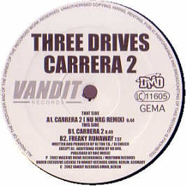 Three Drives - Carrera 2 (Maxi) (12'') (Vinyl)