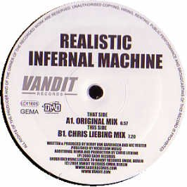 Realistic - Înfernal Machine (Maxi) (12'') (Vinyl)