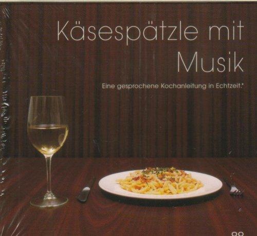 Sampler - Käsespätzle mit Musik - Eine gesprochene Kochanleitung in Echtzeit