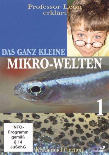 DVD - Prof. Leon erklärt: Das ganz Kleine - Mikro-Welten  Teil 1