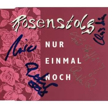Rosenstolz - Nur einmal noch (Maxi)