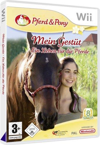Nintendo Wii - Mein Gestüt - Ein Leben für die Pferde