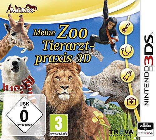 Nintendo 3DS - Meine Zoo-Tierarztpraxis 3D