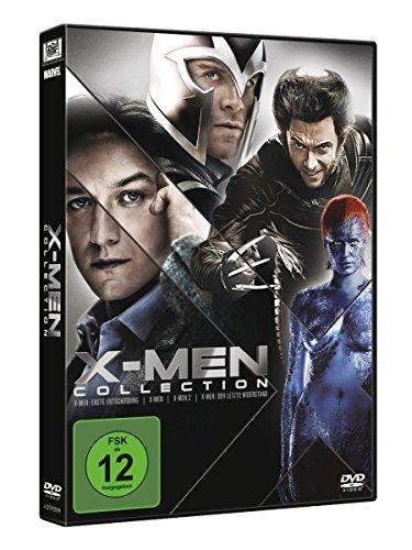 DVD - X-Men Collection (X-Men Erste Entscheidung, X-Men 1, X-Men 2, X-Men - Der letzte Widerstand)