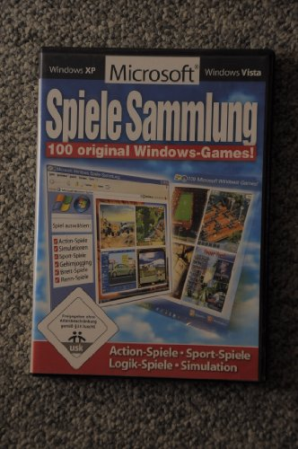 PC - Spiele Sammlung - 100 original Windows-Games!