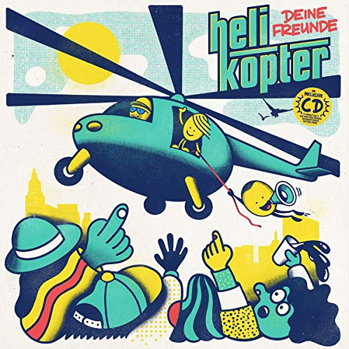 Deine Freunde - Helikopter (Vinyl)