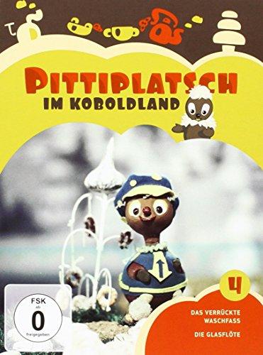 DVD - Pittiplatsch im Koboldland (Das verrückte Waschfass / Die Glasflöte)