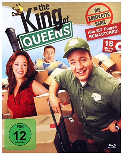 Blu-ray - The King Of Queens - Die komplette Serie (Remastered) (18 Blu-ray Set)