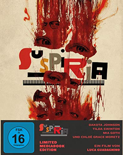 Blu-ray - Suspiria ( DVD) (Limited Mediabook Edition)
