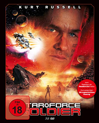 - Star Force Soldier (Mediabook, Blu-ray + DVD) (Cover A)