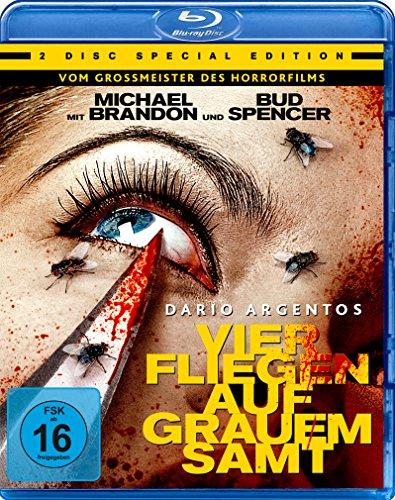 - Dario Agentos Vier Fliegen auf grauem Samt - Special Edition  (+ DVD) [Blu-ray]