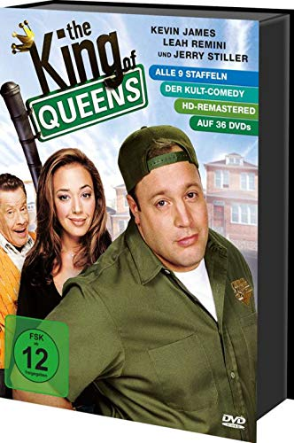 DVD - The King of Queens - Die komplette Serie (HD-Remastered) (36 DVDs)