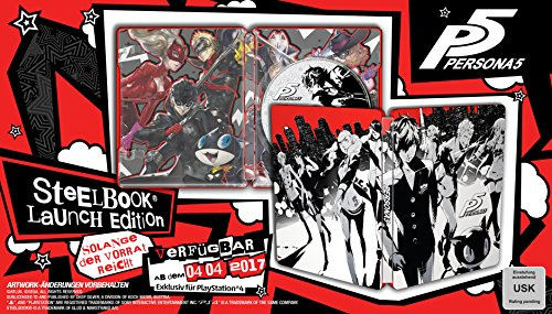 Playstation 4 - Persona 5 (Limited Steelbook Day One Edition)