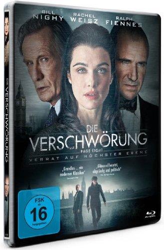 Blu-ray - Die Verschwörung (Page Eight) - Verrat auf höchster Ebene