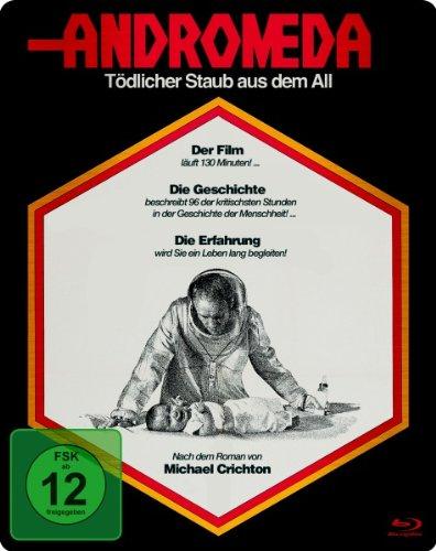 Blu-ray - Andromeda - Tödlicher Staub aus dem All (Steelbook Edition)