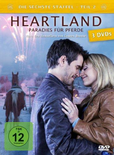 DVD - Heartland - Paradies für Pferde, Staffel 6.2 [3 DVDs]