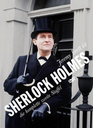 DVD - Sherlock Holmes - Staffel 2 (Jeremy Brett)