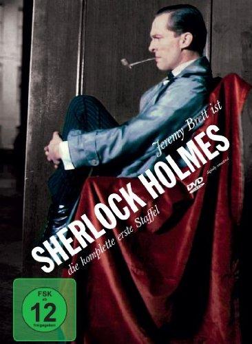 DVD - Sherlock Holmes - Staffel 1 (Jeremy Brett)