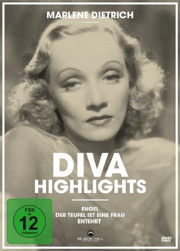 DVD - Marlene Dietrich - Diva Highlights (Engel / Der Teufel ist eine Frau / Entehrt)