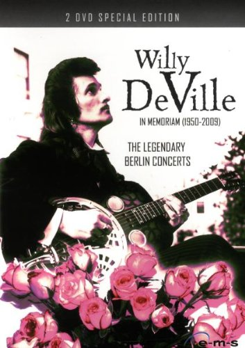 DeVille , Willy - Willy De Ville - The Legendary Berlin Concerts [2 DVDs]