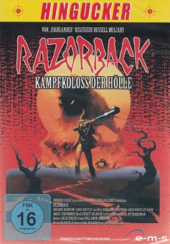DVD - Razorback - Kampfkoloss der Hölle (Uncut) (Hingucker)