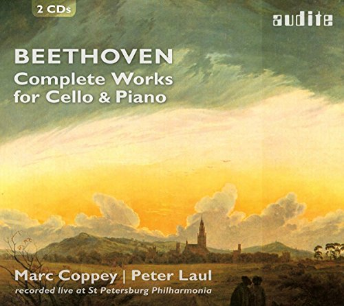 Beethoven , Ludwig van - Complete Works For Cello & Piano (Coppey, Laul)