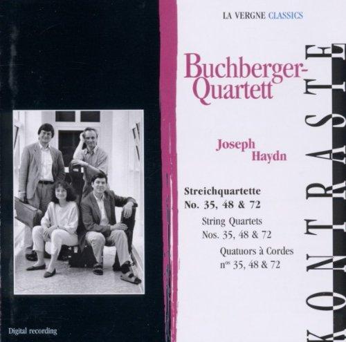 Haydn , Joseph - Streichquartette No. 35, 48 & 72 (Buchberger Quartett)