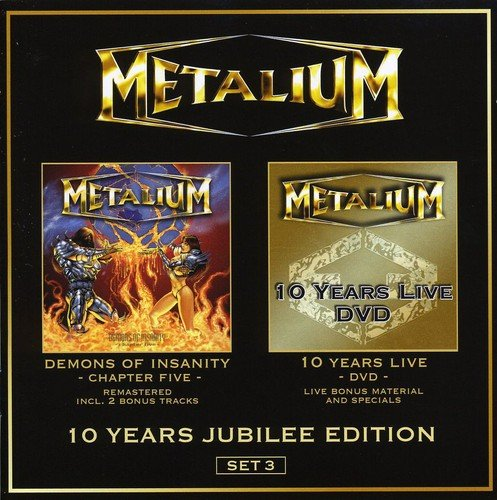 Metalium - 10 Years Jubilee Edition - Set 3 (Limited CD DVD Edition)