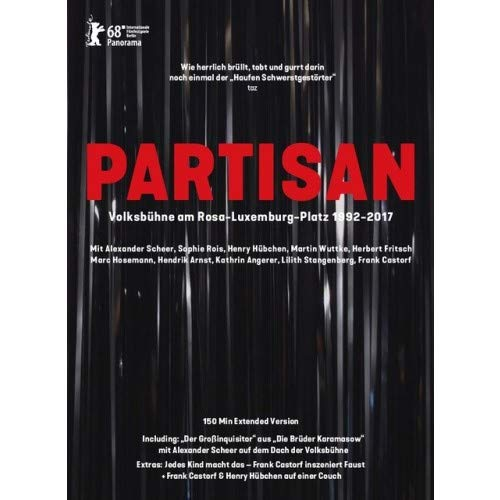 DVD - Partisan - Volksbühne am Rosa-Luxemburg-Platz 1992 - 2017
