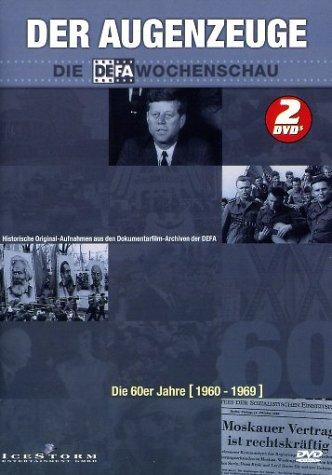 DVD - Der Augenzeuge: Die Wochenschau - Die 60er Jahre (1960-1969)