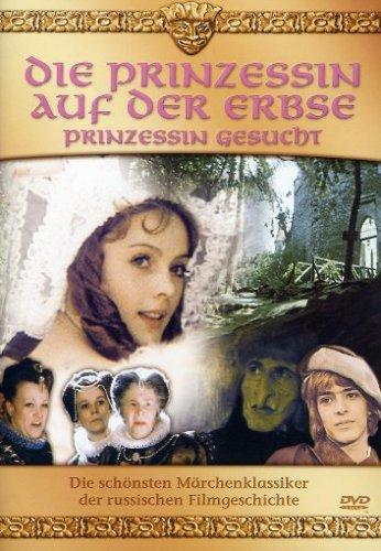 DVD - Die Prinzessin auf der Erbse - Prinzessin gesucht (Die schönsten Märchenklassiker der russischen Filmgeschichte)