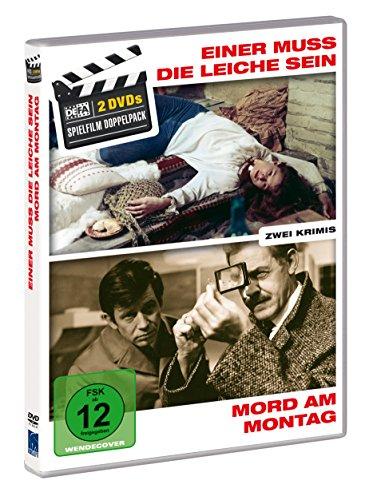 DVD - Einer muss die Leiche sein / Mord am Montag (DEFA Spielfilm Doppelpack)
